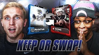 Download MUT DRAFT KEEP OR SWAP VS VIC! CRINGE FORFEIT! Madden 18 Video