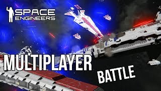 Download FULLY CREWED VENATOR vs PROVIDENCE - Clone Wars Battle - Space Engineers Video