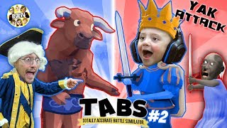 Download TABS IS BACK! Granny Helps Us in Totally Accurate Battle Simulator #2 (FGTEEV Duddz & Shawn) Video