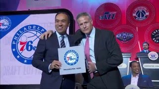 Download 2016 NBA Draft Lottery Reveal Video