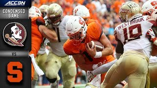 Download Florida State vs. Syracuse Condensed Game | 2018 ACC Football Video