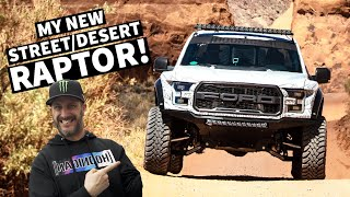Download Ken Block Tests his NEW Fully Built Ford Raptor in Moab! Video