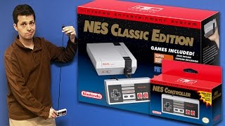 Download NES Classic Edition (aka NES Mini) Review - Talk About Games Video