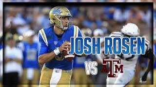Download Josh Rosen COMEBACK Highlights vs Texas A&M // 35/59 491 Yards, 4 TDs // 9.03.17 Video