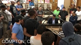Download Classical Pianist Performs Dr.Dre Mashup in Compton Video