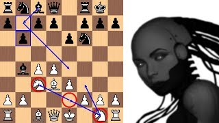 Download Artificial Intelligence Leela Chess Zero finds a new 7th move in the Nimzo-Indian Video