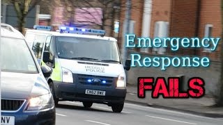 Download Emergency vehicles responding - FAILS - Video