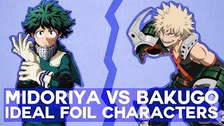 Download Midoriya Vs Bakugo Building Ideal Foil Characters Video