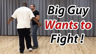 Download What To Do if a Big Guy Wants to Fight You! Video