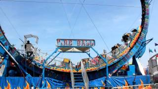 Download Fire Ball ride at the fair Video