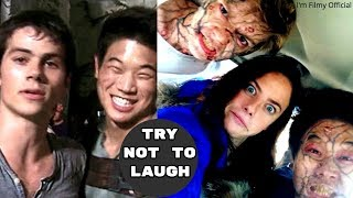 Download Maze Runner 1&2 Bloopers and Gag Reel - Try Not To Laugh With Dylan O'Brien Video