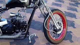 Download 2012 Hardknock bobber scooter At Celebrity Cars Las Vegas Video