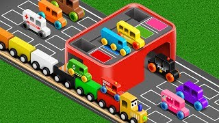 Download Colors for Children to Learn with Street Vehicles - Colours Collection for Children Video