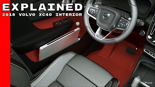 Download 2018 Volvo XC40 Interior Explained Video