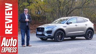 Download Jaguar E-Pace review: SUV arrives to take on Audi Q3 and BMW X1 Video
