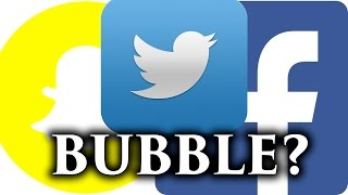 Download Tech Stock Bubble? - Are we in a Bubble? Facebook, Snapchat, Twitter Thoughts Video