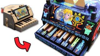 Download Nintendo Labo Piano Custom Paint Job - Legend of Zelda Breath of the Wild Video