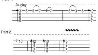 Havana - Ukulele - Guitar Chords - Ukulele Tab 7 Notes - Havana