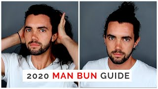 Download THE 2018 Man Bun Tutorial Guide: How to Grow and Wear, Pros/Cons, and Different Man Bun Styles Video
