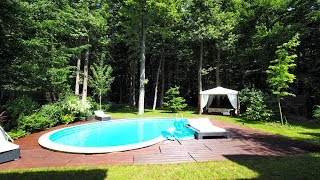Download GoldenKey - Vila moderna imbratisata de padure, piscina incalzita, 1500mp teren - ID366003 Video
