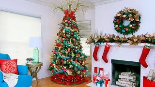 Download Designer Christmas Tree Decorating Ideas Video