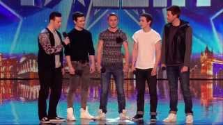 Download Britain's Got Talent S08E01 Collabro Amazing Classical / Musical Boy Band Video