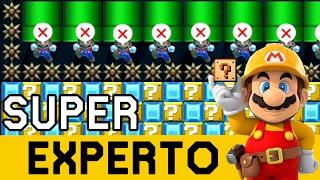 Download Saturado de Japoneses Trolls 😠 - SUPER EXPERTO NO SKIP | Super Mario Maker en Español - ZetaSSJ Video