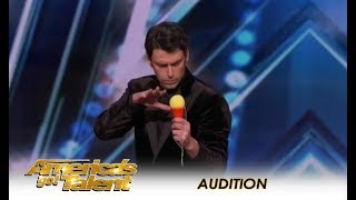 Download Lioz Shem Tov: Israeli Mentalist Has SUPERPOWERS - But Is It Funny? | America's Got Talent 2018 Video