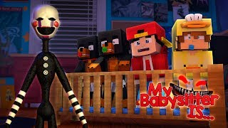 Download Minecraft MY BABY SITTER IS...... FNAF PUPPET MASTER!!!! - Donut the Dog Video