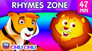 Download Finger Family Song | The Best Animal Nursery Rhymes Collection for Children | ChuChu TV Rhymes Zone Video