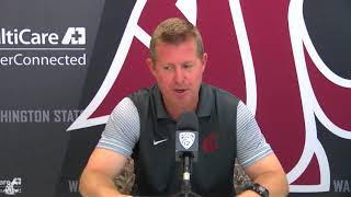 Download Todd Shulenberger Press Conference 8/21/18 Video