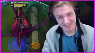 Download Hashinshin Gets Asked to Try Nightblue3 Full Crit Aatrox Build - Best of LoL Streams #307 Video