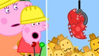 Download Peppa Pig English Episodes | Peppa Pig's Fun Time At Digger World | Peppa Pig Official Video
