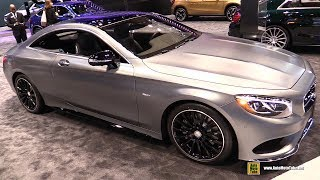 Download 2017 Mercedes S550 Coupe Night Edition - Exterior and Interior Walkaround - 2017 Chicago Auto Show Video
