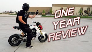 Download One Year With a Honda Grom | Owner's Review Video
