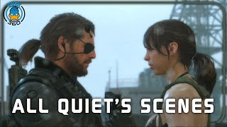 Download Metal Gear Solid V The Phantom Pain: All Quiet's Scenes + Ending(PS4/1080p) Video
