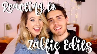 Download Reacting To Zalfie Edits | Zoella Video