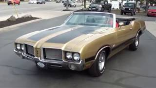 Download 1972 Oldsmobile 442 Convertible $38,900.00 Video