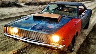 Download Dirt Cheap Rat Rod! 1968 Charger Buildup and Thrash - Roadkill Ep. 23 Video