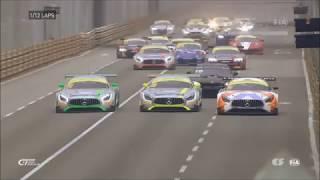 Download Huge start crash FIA GT World Cup 2017 at Macau Qualify Video