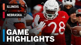 Download Highlights: Illinois Fighting Illini vs. Nebraska Cornhuskers | Big Ten Football Video