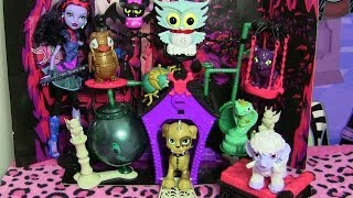 Download MONSTER HIGH SECRET CREEPERS CRITTERS REVIEW VIDEO!!! Video