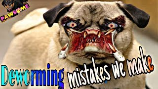 Download NEVER MAKE THESE MISTAKES while Deworming dog and puppy   Deworming Updates 2019 Video