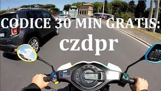 Download eCooltra Scooter Sharing a Roma: cos'è e come funziona Video