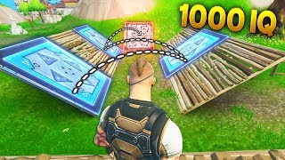 Download 1000 IQ BOUNCER TRAP..!!! | Fortnite Funny and Best Moments Ep.132 (Fortnite Battle Royale) Video