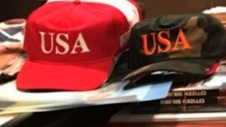 Download Is Donald Trump trading out his signature hat? Video