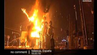 Download Las Fallas Festival in Valencia, Spain Video