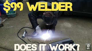 Download $99 125 amp welder. Worth it? new 90 a. Harbor freight 120v budget welding review. Chicago electric Video