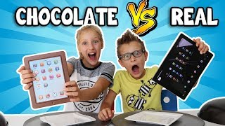 Download CHOCOLATE vs REAL!!!!! Video