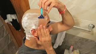 Download How To SAFELY Shave Your Head Bald Using A Razor Blade! (Balding For Beginners) Video